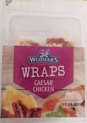 Wojnar's Wraps Caesar Chicken - Product - de