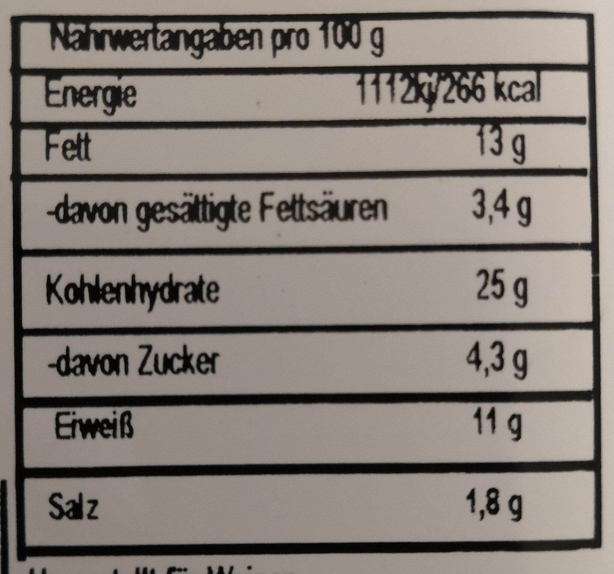 Wojnar's Wraps Caesar Chicken - Voedingswaarden - de
