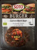 Cashew-Black Bean Burger - Produit - fr