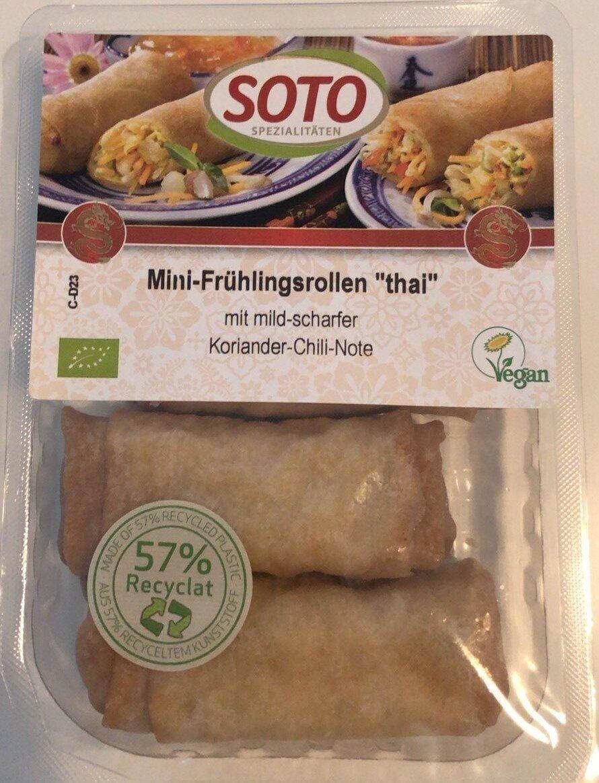 """Mini-Frühlingsrollen """"Thai"""" - Produkt - de"""