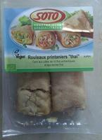 Rouleaux printaniers thai - Produit