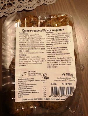 Quinoa nuggets - Ingrediënten - fr