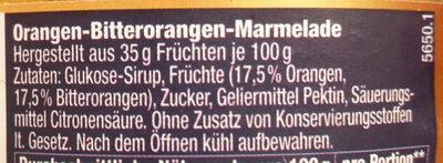 Orangen-Bitterorangen-Marmelade - Ingrediënten - de