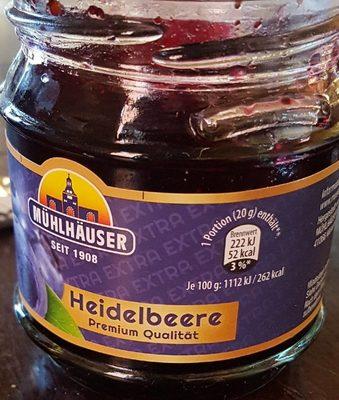 Heidelbeere Konfiture - Produit - fr