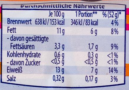 6 gekochte Eier aus Bodenhaltung - Nutrition facts