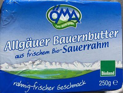 Mantequilla ecológica - Product - de