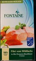 Filet vom Wildlachs in Bio-Tomaten-Basilikum-Creme - Product