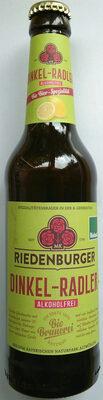 Dinkel-Radler alkoholfrei - Product - en