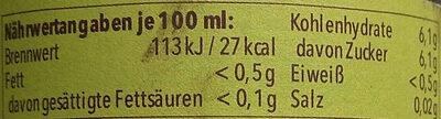 Dinkel-Radler alkoholfrei - Información nutricional - de