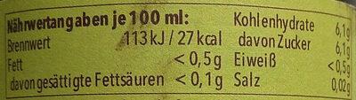 Dinkel-Radler alkoholfrei - Nutrition facts - en