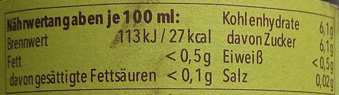 Radler Alkoholfrei - Nutrition facts - en
