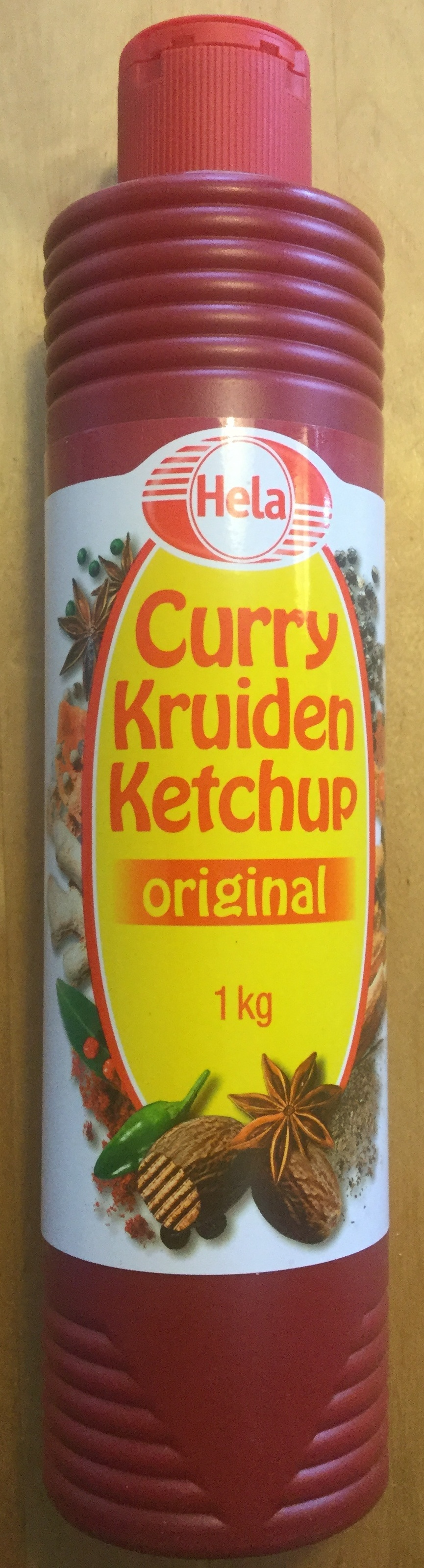 Curry kruiden ketchup original - Product