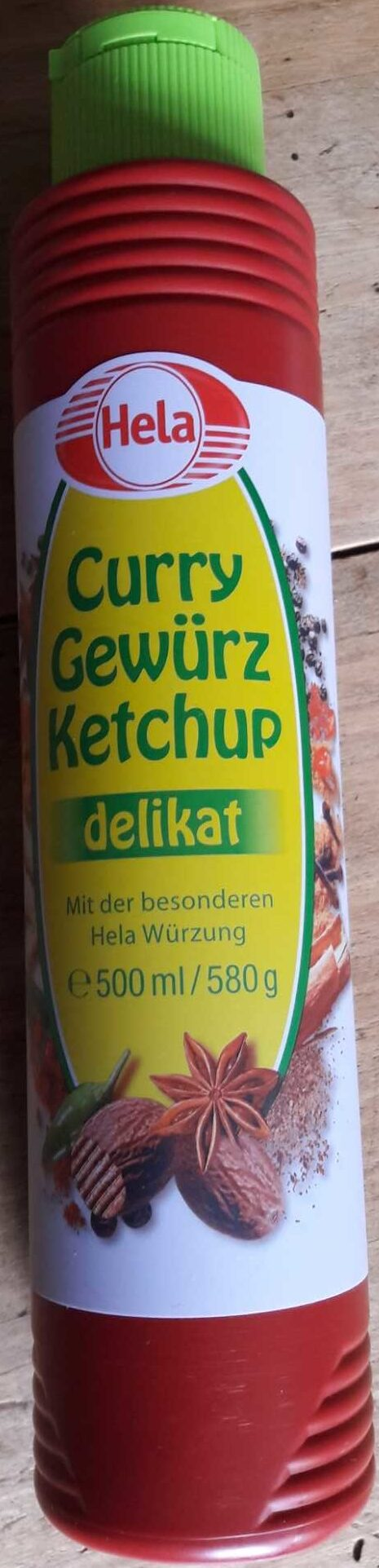 Curry Gewürz Ketchup delikat - Product - de