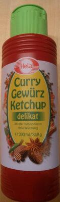 Curry Gewürz Ketchup delikat - Produit