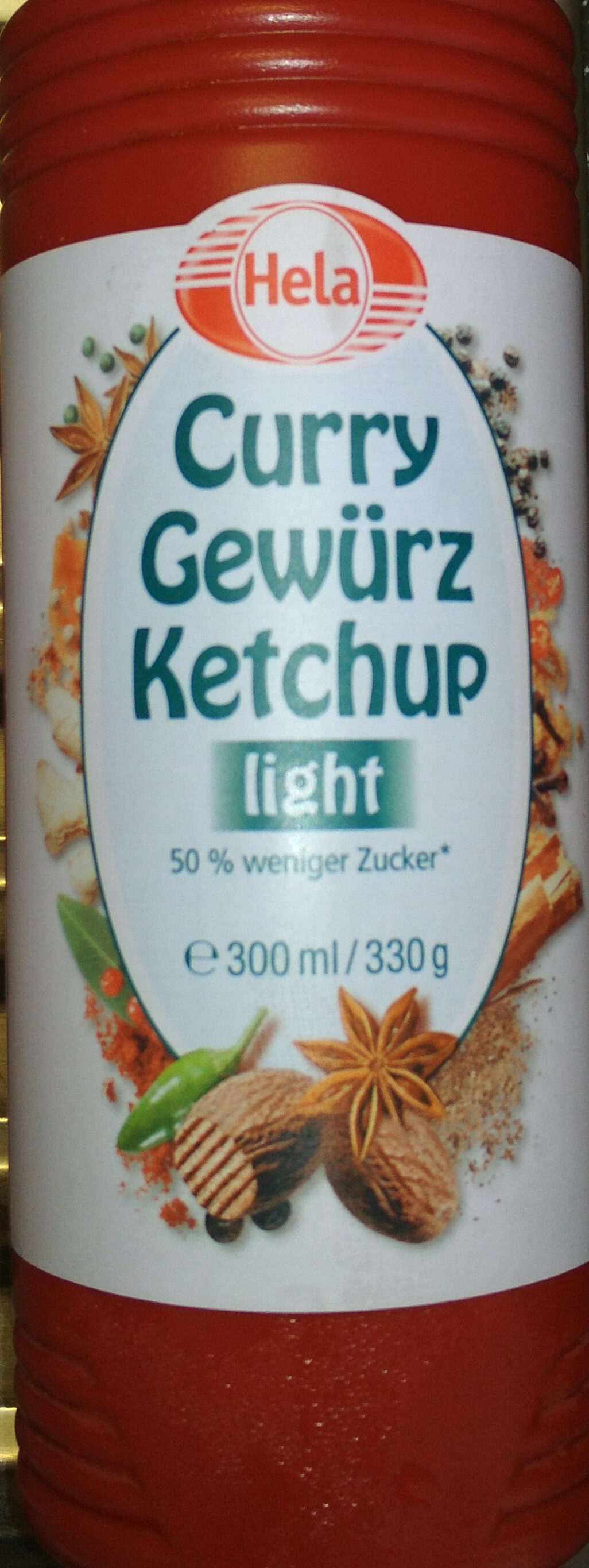 Curry Gewürz Ketchup light - Prodotto - de