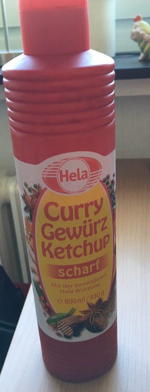 Curry Gewürz Ketchup Scharf - Produit - fr