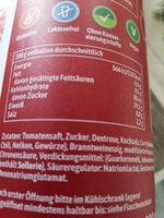 Gewürz Ketchup Curry Delikat - Informations nutritionnelles - fr