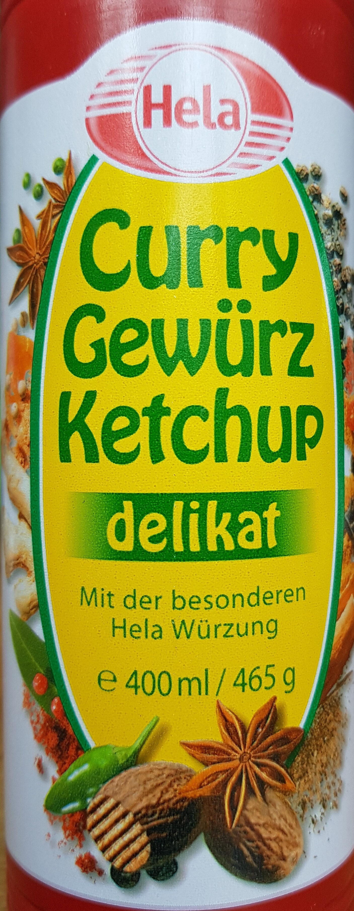 Curry Gewürz Ketchup delikat - Product