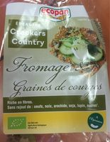 Crackers Country Fromage & Graines de courges - Product - fr