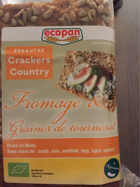 Fromage et graines de tournesol - Product - fr