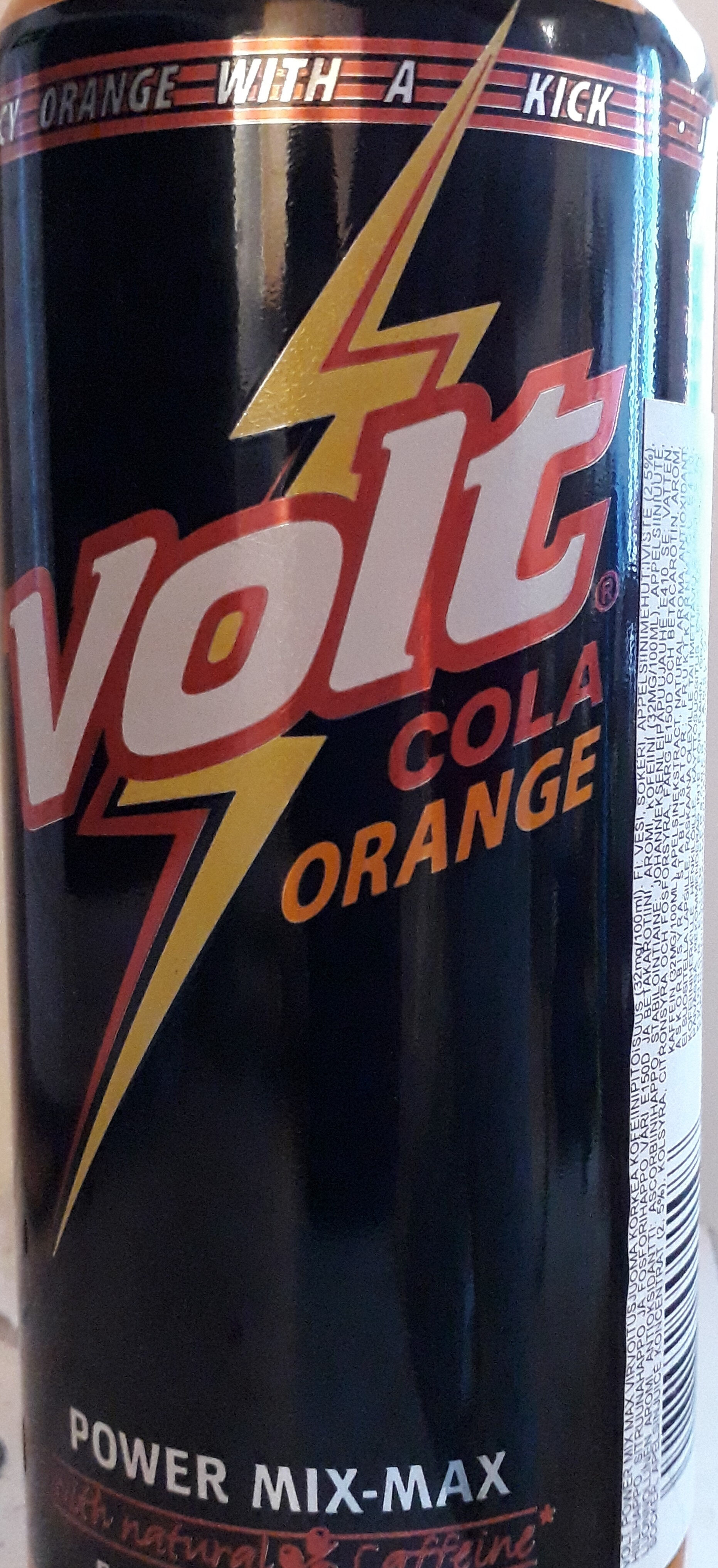 Power min max cola orange - Produit - fi