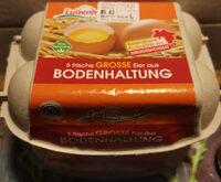 6 frische grosse Eier aus Bodenhaltung - Produkt - de
