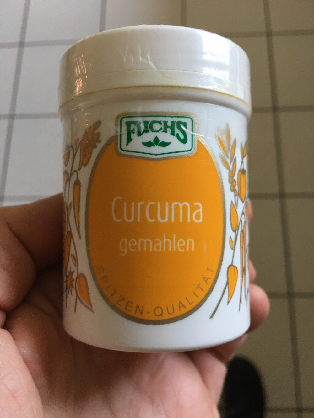 Curcuma gemahlen Fuchs - Product