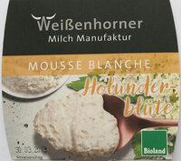 Mousse Blanche Holunderblüte - Produit - de