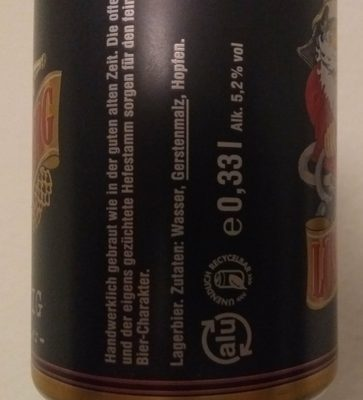 Lösch-Zwerg Würzig - Inhaltsstoffe