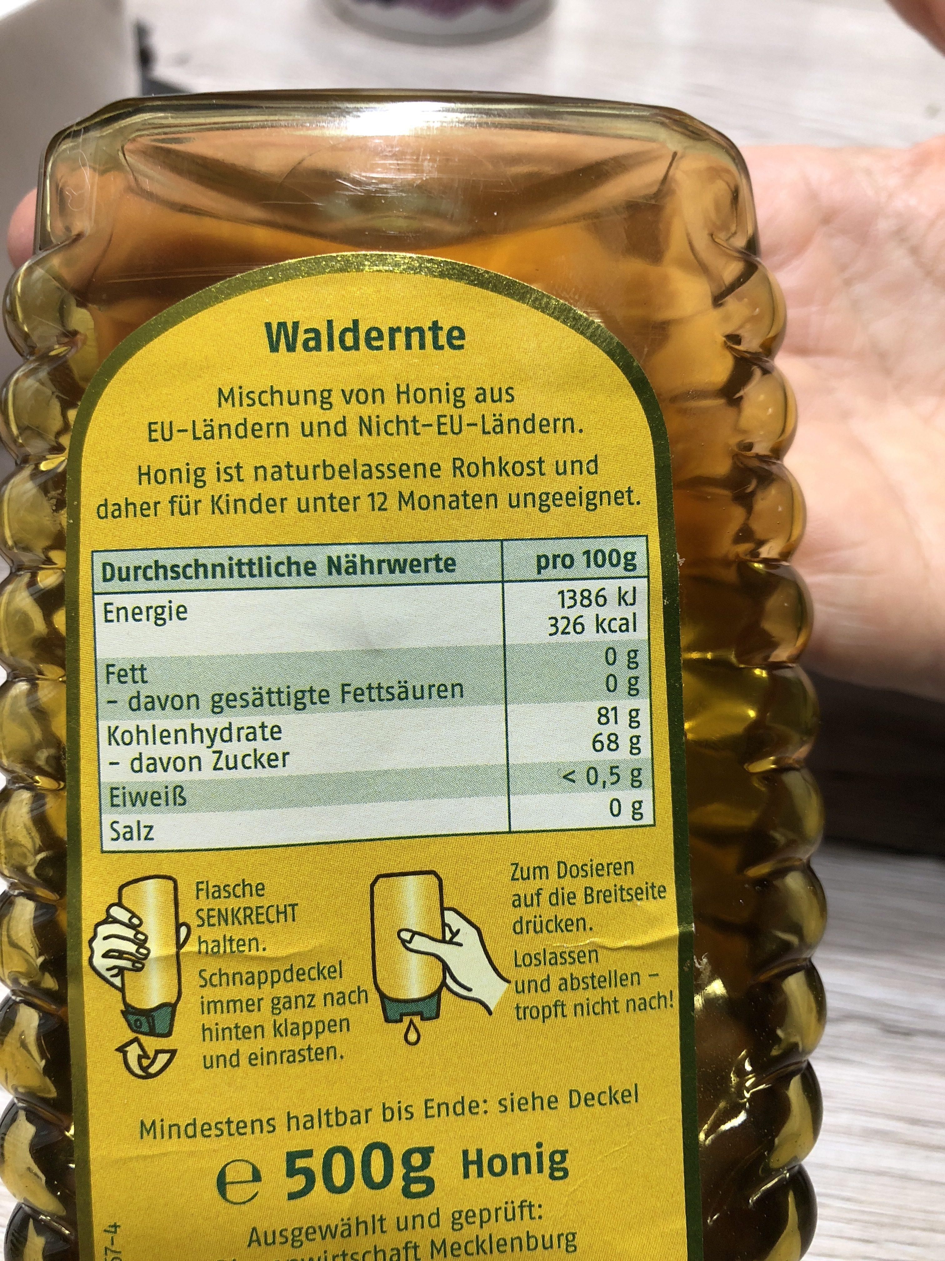 Sonnentau Waldernte würzig - Ingrédients - fr