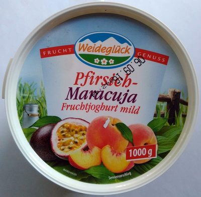Pfirsich-Maracuja Fruchtjoghurt mild - Produkt