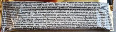 Energize chocolate - Ingredients