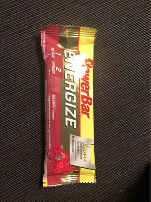 Barre Powerbar - Nutrition facts