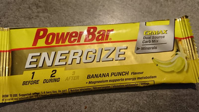 Powerbar Energize C2max (55GR) - Banan? - Product