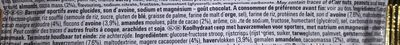 Barre Powerbar - Ingrédients - fr