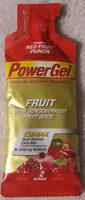 PowerGel Red fruit punch - Produit