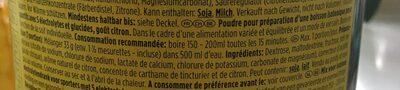 Iso Active - Ingrediënten - fr