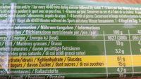 Powerbar Natural Energy Cereal Reep Sweet'n Salty 40 GR - Ingrédients