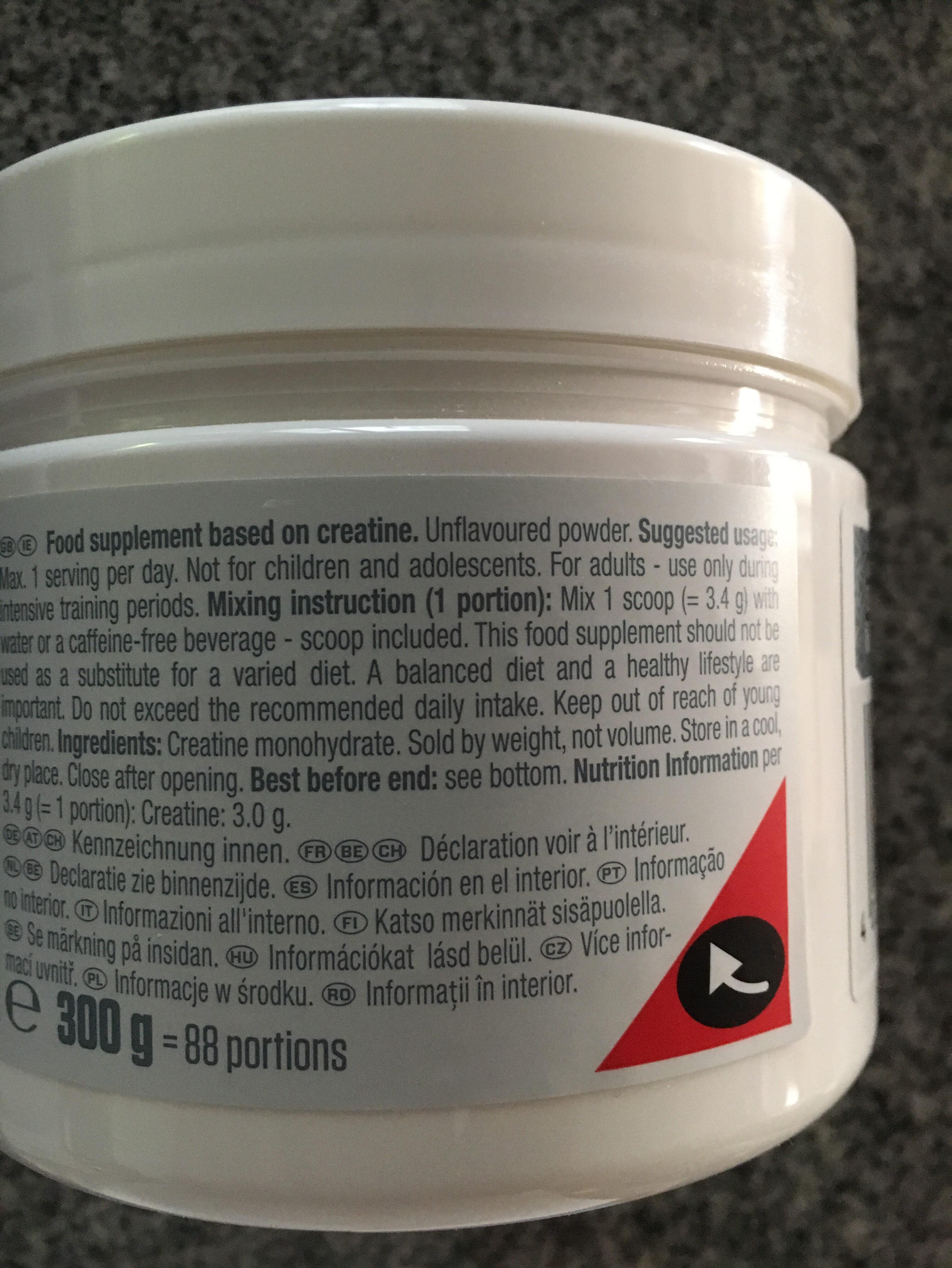Creatine monohydrate - Ingredienti - fr