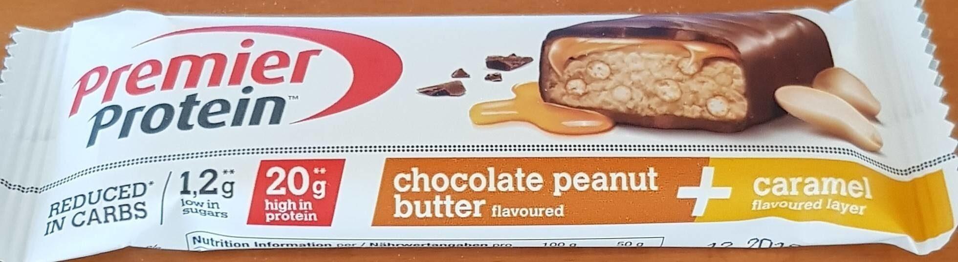 Chocolate peanut butter and caramel - Produit - de