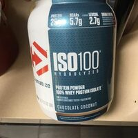 ISO100  protein powder - Product - en
