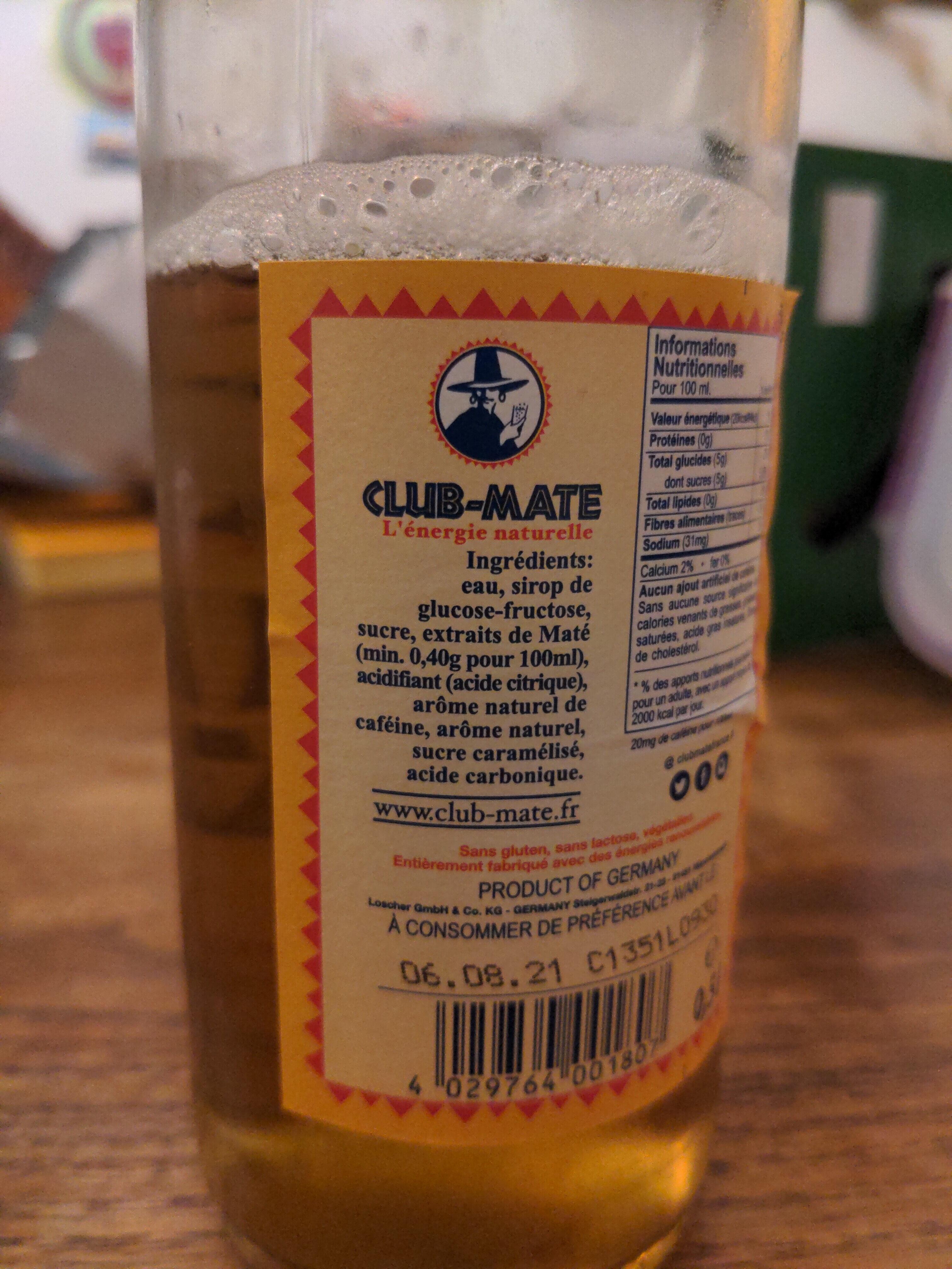 Club-Mate - Prodotto - nl