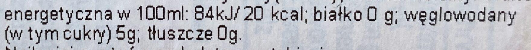 CLUB-MATE - Wartości odżywcze - pl