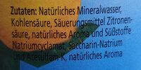 kalorienarme Zitronen-Limonade - Ingrédients - de