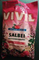 Vivil Hustenbonbons Zuckerfrei, Salbei - Product