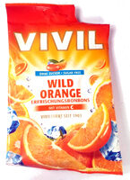 Erfrischungsbonbons wild Orange - Product - de