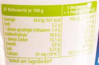 Müller Milch Reis Apfel - Informations nutritionnelles