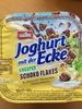Joghurt mit der Ecke Knusper Schoko Flakes & Joghurt Bananen Geschmack - Produkt