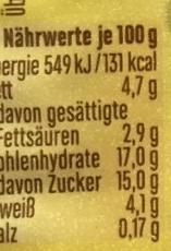 Joghurt mit der Ecke Knusper Schoko Flakes & Joghurt Bananen Geschmack - Voedigswaarden