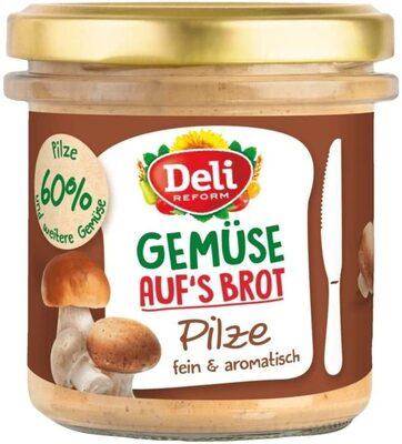 Gemüse auf's Brot Pilze - Prodotto - de